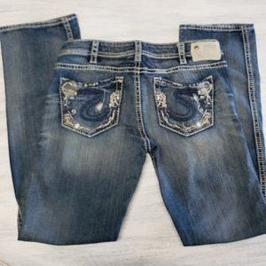 Distressed Silver Jeans